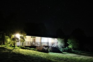 Apricot Cottage night time photo
